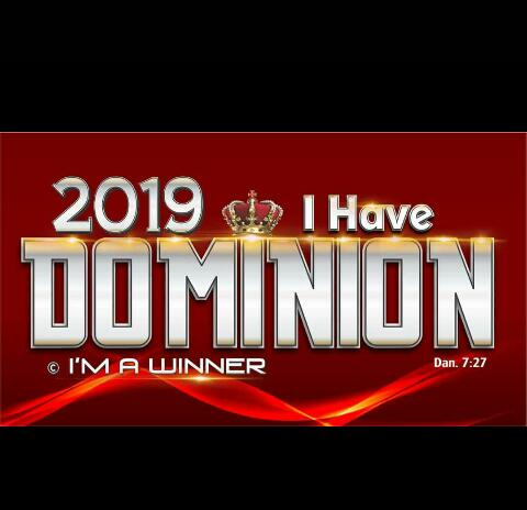 I HAVE DOMINION.
