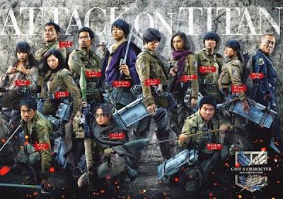 Shingeki No kyojin Live Action 2015 Bluray Subtitle Indonesia