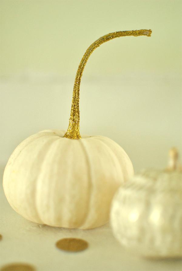 gold-stemmed pumpkin