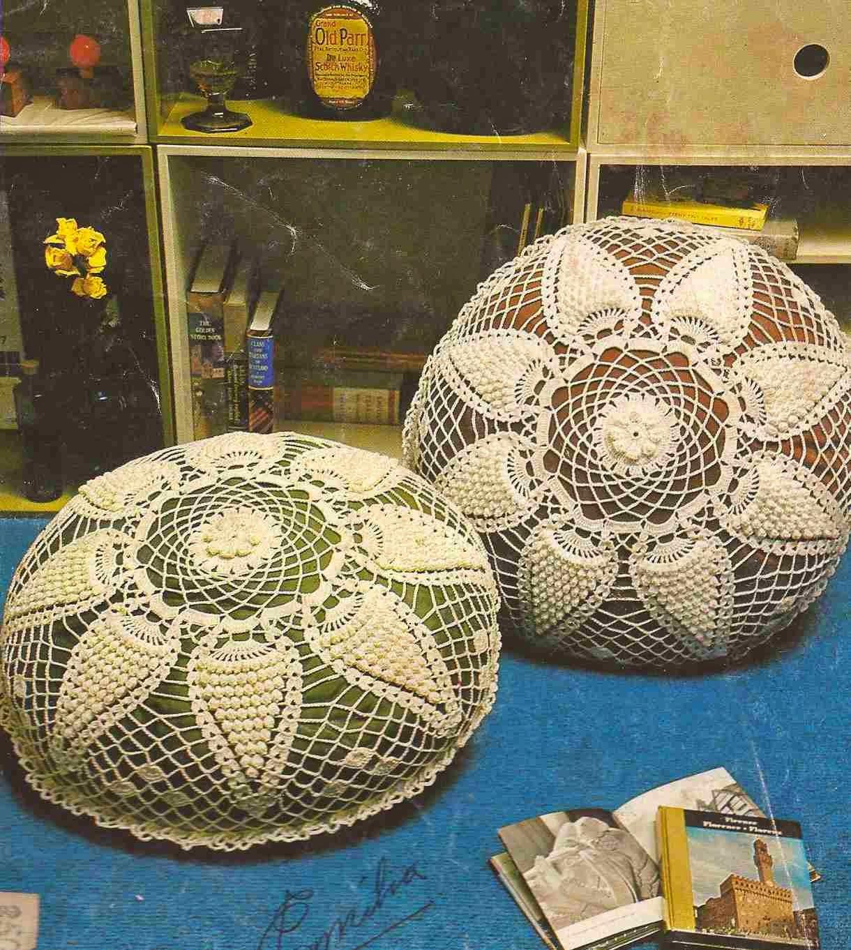 Cojines a Crochet