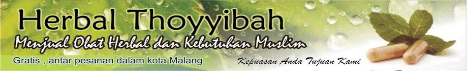TOKO OBAT HERBAL MALANG  -  herbal-thoyyibah.blogspot.com