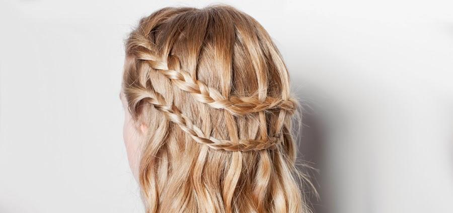 Peinados con trenzas para pelo largo IMujer