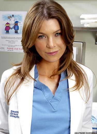TV and movies: Ellen Pompeo as Meredith Grey