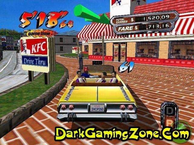 Crazy Taxi 2 Game Play