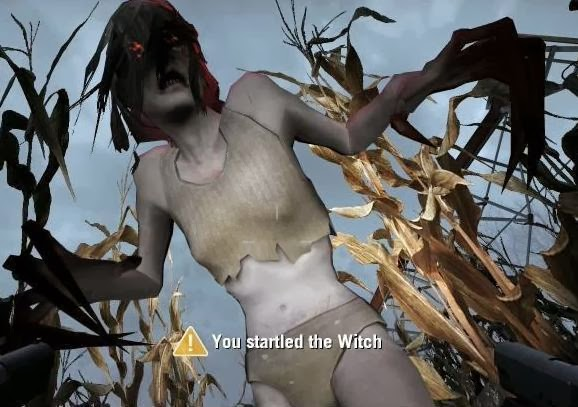 Cara melawan Bos Witch Game Left 4 Dead