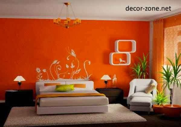 Shades Of Orange Paint Awesome Bedrooms Most Wellliked Paint Colors 2014  Interiordecoratinons 1 Design Ideas