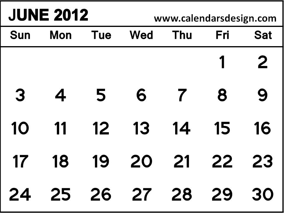 2012 Monthly Calendar Printable Free/page/2 | New Calendar Template ...