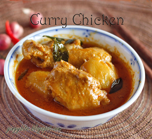 Curry Chicken 咖喱鸡