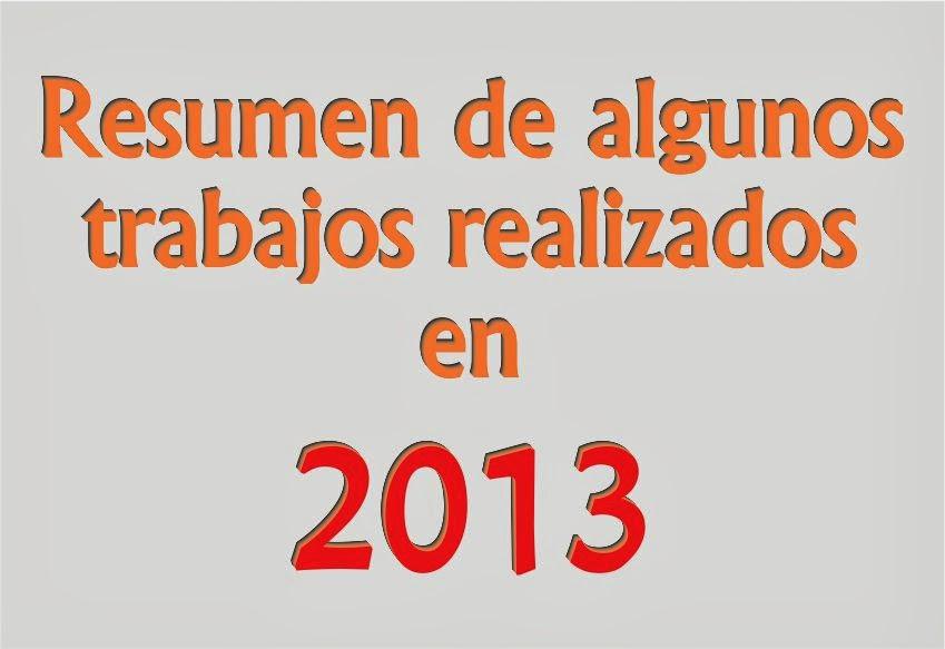 .Resumen 2013