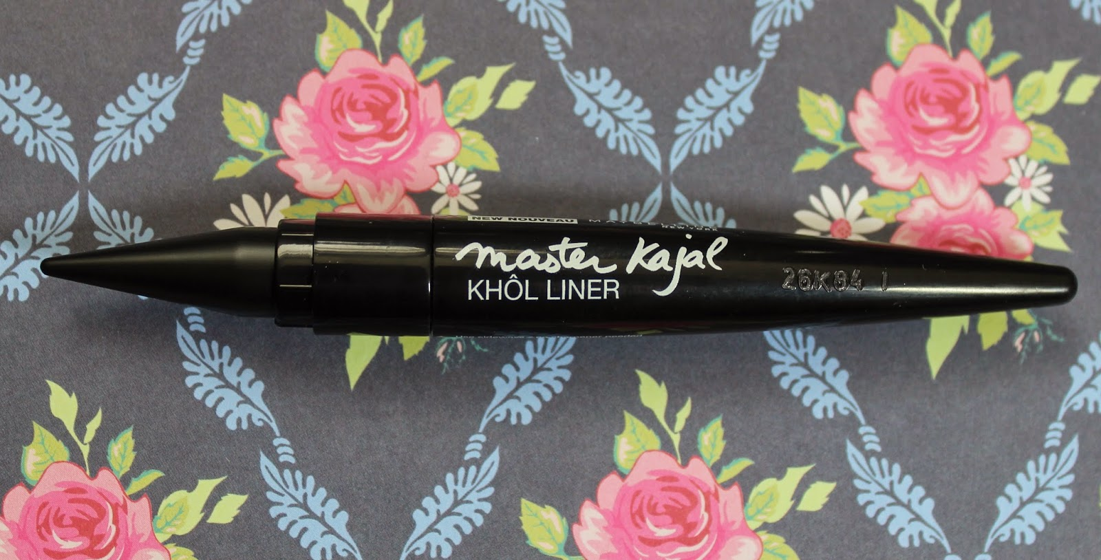 maybelline master kajal khol liner pitch black