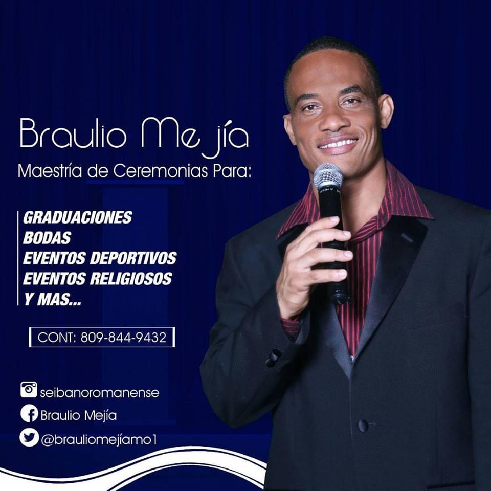 Braulio Mejía La Voz de tus eventos