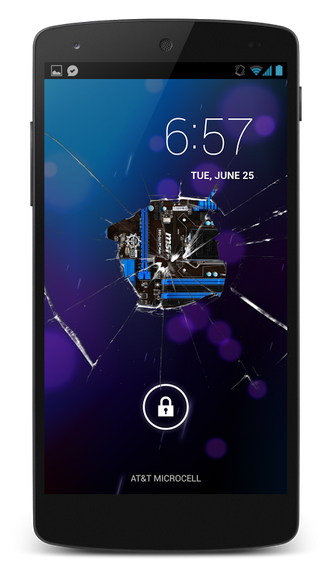 Broken Glass Screen HD Pro v1.0