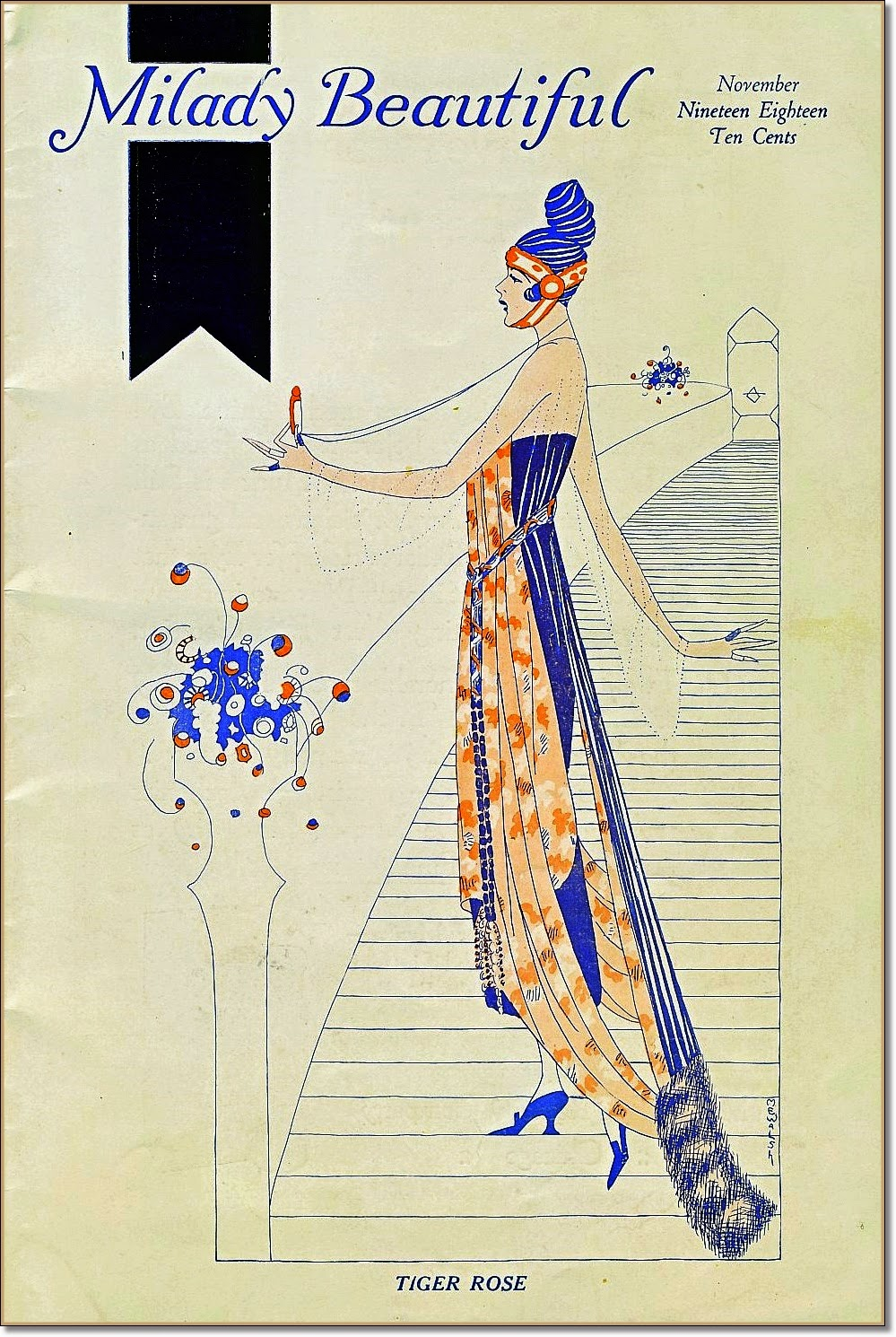 Milady Beautiful cover 1918