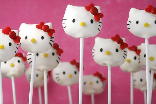 Cake Pop Hello Kitty Bakerella