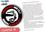 Chapas solidarias 1€