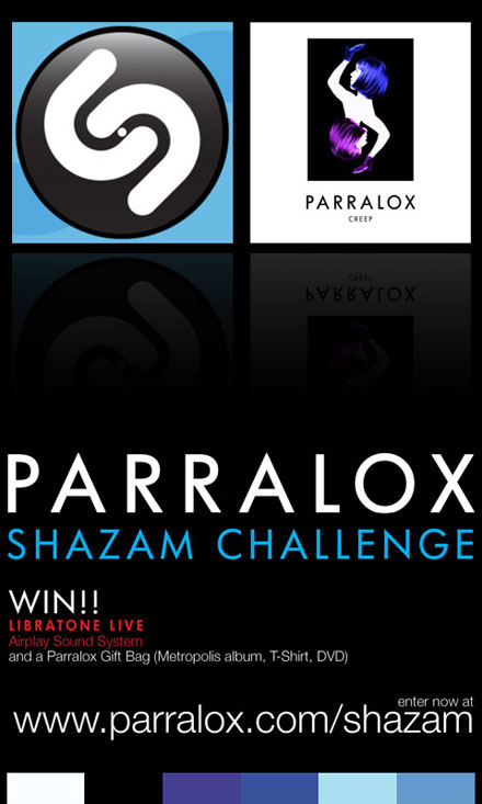 Parralox - SHAZAM Challenge