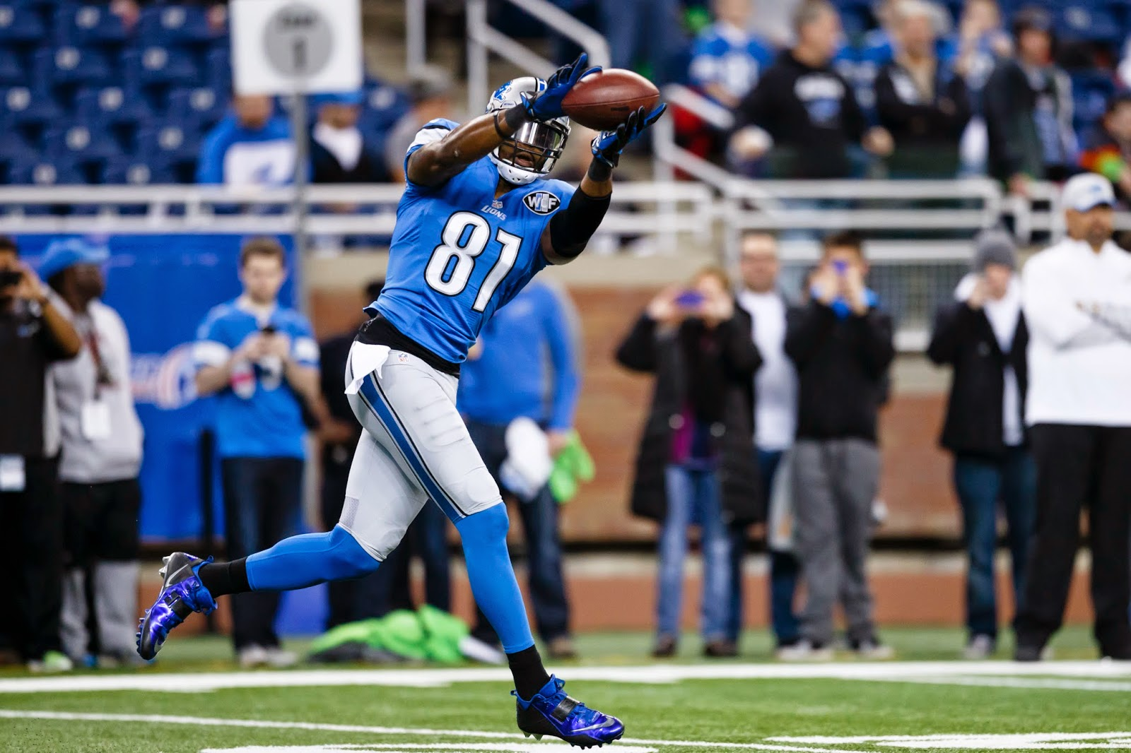 Detroit Lions GM not concerned about Calvin Johnson's injuries