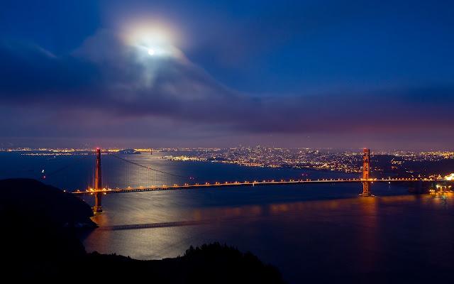 Atardecer en la Hermosa Ciudad de San Francisco California