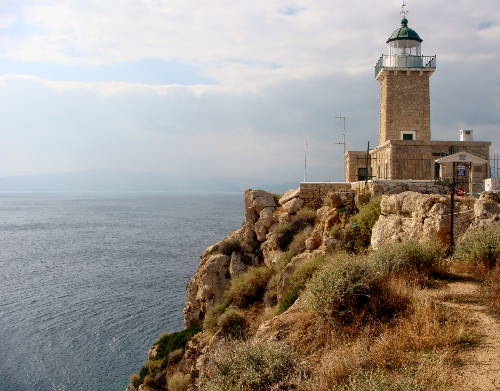 Heraion, Melagavi lighthouse