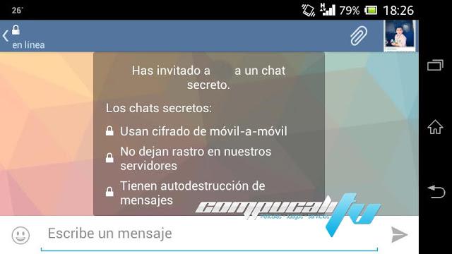 Telegram Aplicación Android Similar a Whatsapp