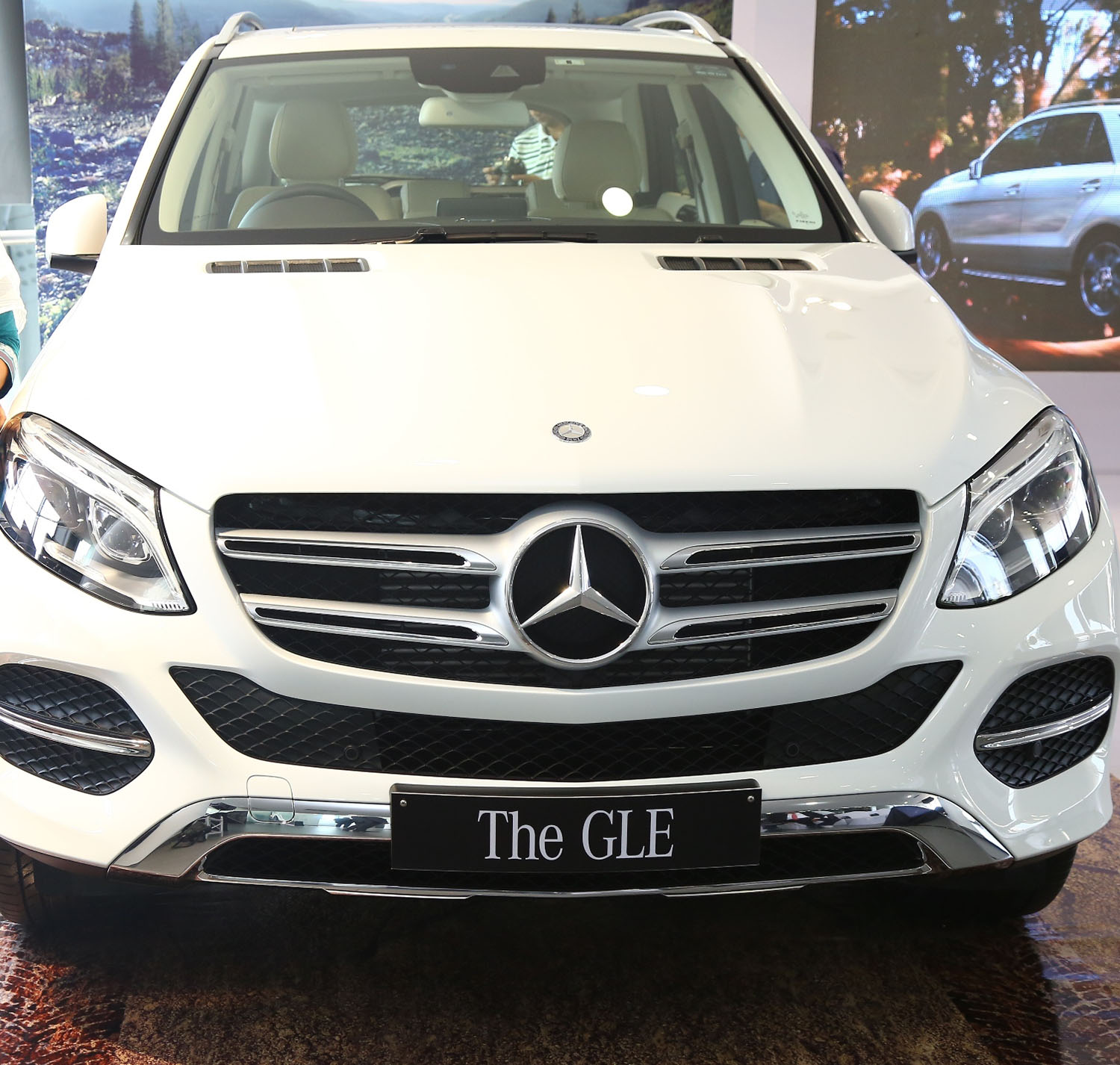 Mercedes benz gle class arrives in india for Mercedes benz for sale in india