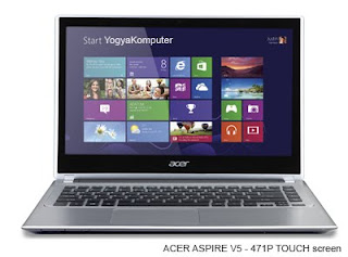Laptop ACER ASPIRE V5 - 471P Touch Screen