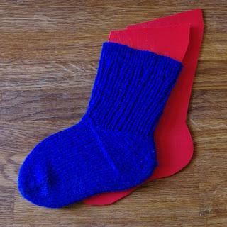 DIY sockblocks blocka sockor