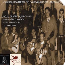 CURSO GRATUITO DE FANDANGOS DE ALOSNO
