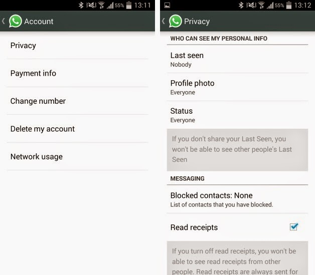 whatsapp s official website and not google play to disable whatsapp s ...