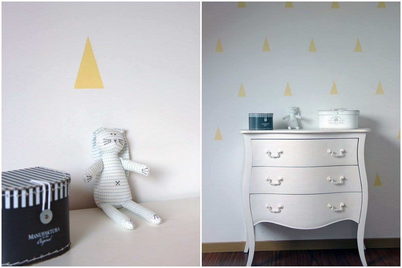 Décoration mur stickers triangle | girlystan.com