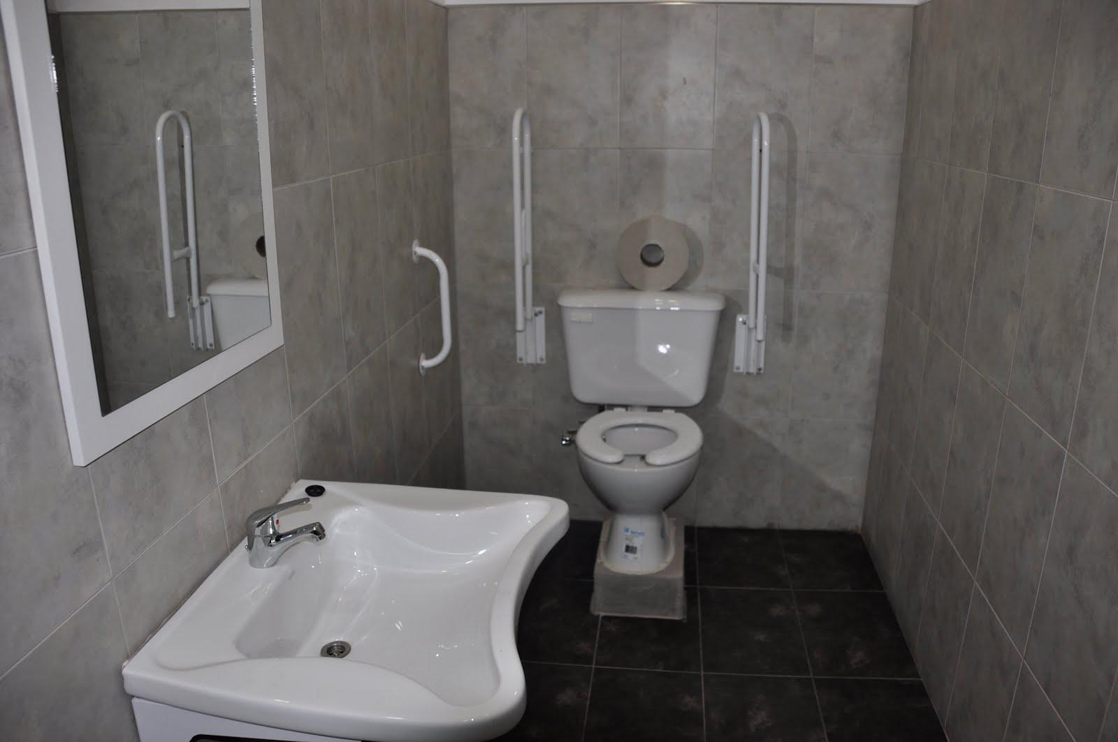 Diseno Baño Discapacitados:Baños para discapacitados en el segundo piso del ISET 18