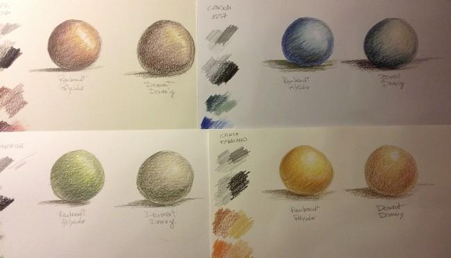 La matita autodidatta tipi di carta per le matite colorate - I diversi tipi di carta ...