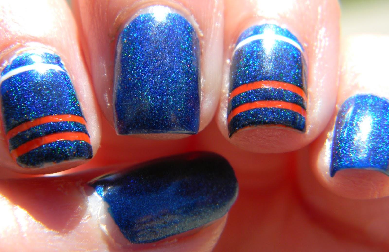 Polish Freshie~: She Wants the D - Llarowe Bronco Blue
