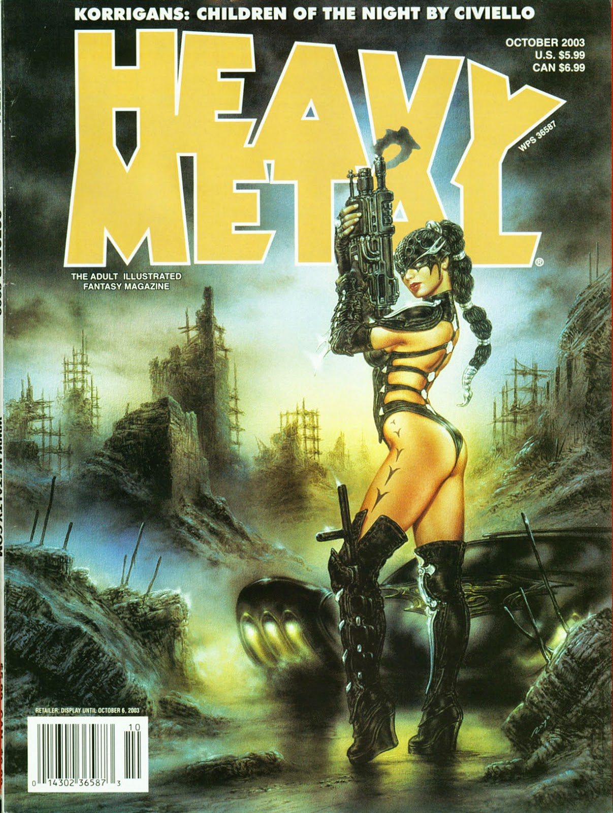Heavy Metal Cover October 2003