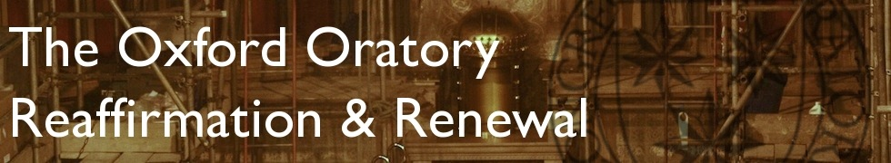 The Oxford Oratory Reaffirmation and Renewal Campaign
