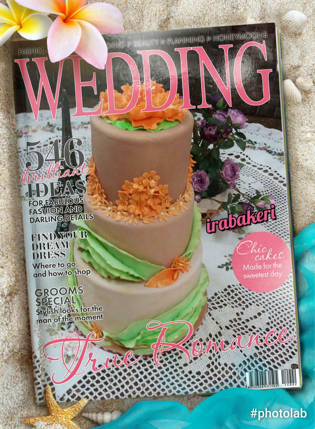 Wedding fondant 3tiers