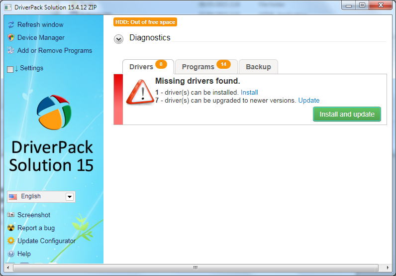 driver pack 15 iso download