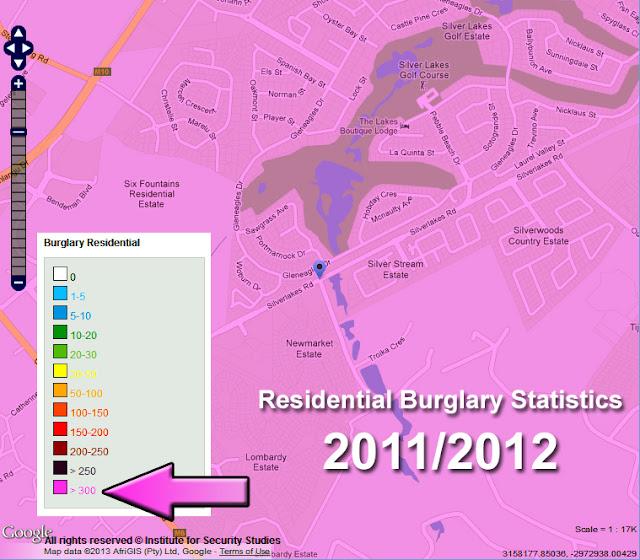 Residential Burglary Statistics: 2011/2012