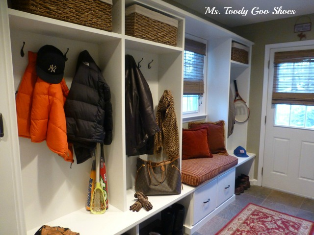 Mudroom Renovation  --- Ms. Toody Goo Shoes