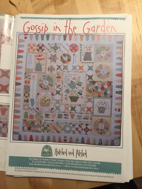 Gossip in the Garden: ook wij gaan met dit prachtige patroon aan de slag