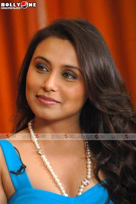 Rani Mukherjee Sexy in Blue 2