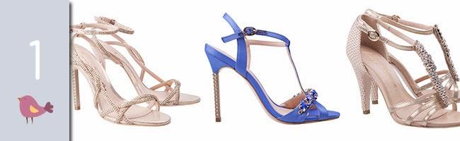 Sapatos de noiva para o verão, sapatos, dicas de sapatos