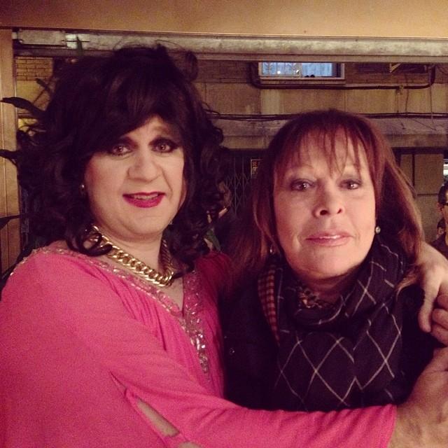 La Toñi con Massiel en Selectos Puraenvidia - Fotografía de The Zombie Company