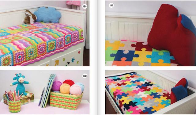Bebek örgü battaniye Modelleri