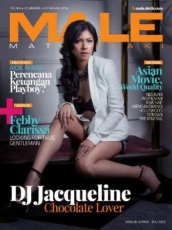 MALE Mata Lelaki Edisi 66 - DJ Jacqueline