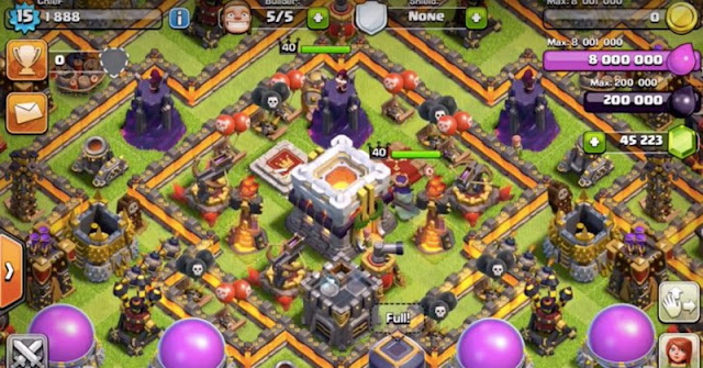 Clash Of Clans: Super Cell bocorkan wujud Twon Hall Level 11