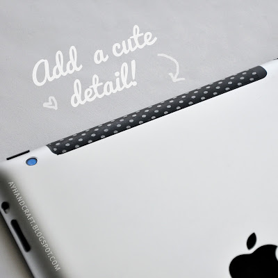 Washi tape ipad! #washi tape