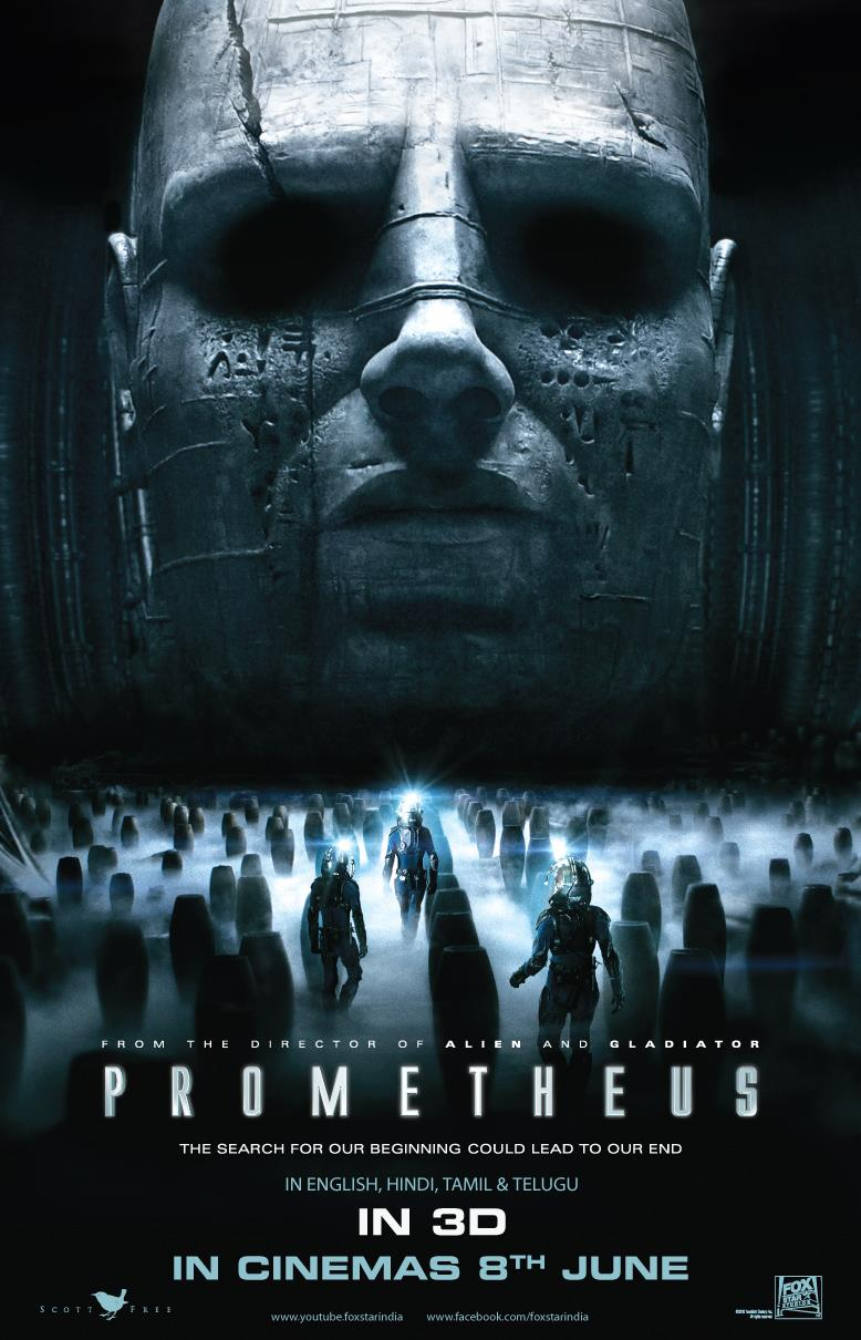 The Geeky Nerfherder: Movie Poster Art: Prometheus (2012)