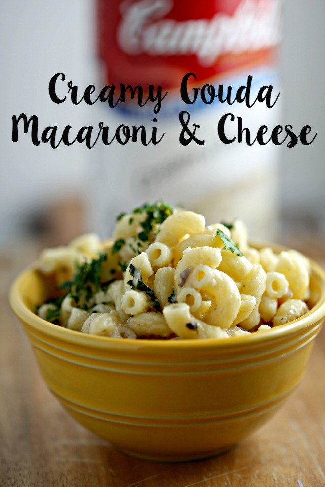 Creamy Gouda Macaroni & Cheese