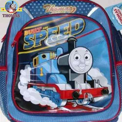Vivid back to school Thomas tank steam train mini backpack kids travel bag luggage merchandise gifts